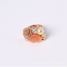 Flower Ring with Fashion Design Good Quality and Good Price