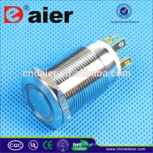 Daier LAS1GQ-19F-11E Interrupteur à bouton-poussoir lumineux