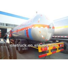 JIEFANG 10.5MT lpg buque cisterna, lpg entrega buque cisterna, gas camión cisterna