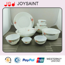 20PCS Opal Glass Kitchenware Set