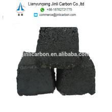 ECA à base de carbone électrode pâte briquettes cylindres pour ferrochrome et ferrosilicium EAF