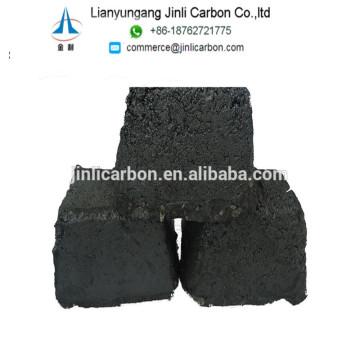 Pasta do elétrodo do carbono da cinza 3% para o carboneto e a ferroliga de cálcio