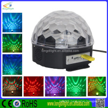 Guangzhou 6*3W star ball RGB color led magic ball for sale