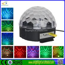 IR controle & USB levou cristal bola mágica esfera luz / levou bola de cristal
