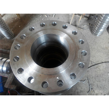 BS 20Mn BSPT Steel Butt Weld Pipe Flange