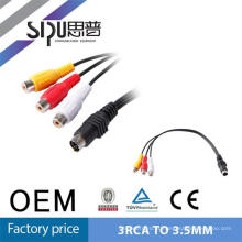 SIPU Factory price hot sale optical rca male to female av cable
