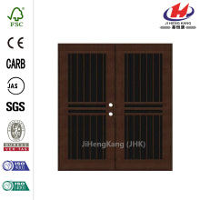Porta di sicurezza di pianura Bar Copperclad sinistro alluminio superficie