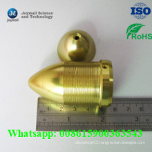 Custom Brass Die Casting Nut with CNC Turning Process