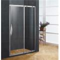 Interior sliding shower door aluminum parts for bathroom