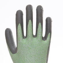 Nitrile Coated Smooth Finish Labor Protective Gloves