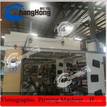 Máquina de impressão flexográfica de papel revestido colorido