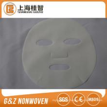 Tissu doux de rodage de masque de PE pour la feuille de masque facial