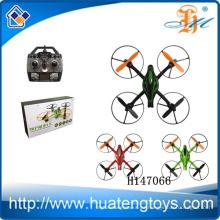 2014 Pequeño tamaño 2.4G gyro 4CH 6 cuadros del aerocrista RC del quadcopter del rc del eje con el LCD H147066