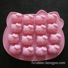 16 Hello Kitty Silicone Chocolate Cake Baking Mold