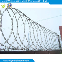 Security Mesh Fence with Razor Barbed Wire