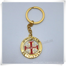 Professional Metal Cross Keychain/Cross Keyring/Cross Key Holder (IO-ck112)