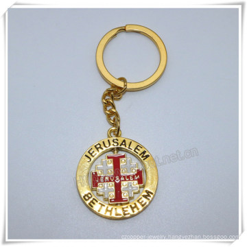 Professional Metal Cross Keychain/Cross Keyring/Cross Key Holder (IO-ck112)