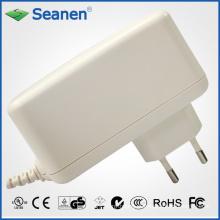 Adaptador de alimentação 24watt / 24W com Pin Europa / Pin UE para o dispositivo móvel, Set-Top-Box, Impressora, ADSL, Audio & Video ou Eletrodomésticos