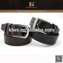 Cinturón profesional auténtico de la PU para los pantalones vaqueros de los hombres
