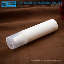 ZB-QH30 30ml ecológico color personalizable 50ml blanco vacío por mayor de contenedores de plástico para cosméticos