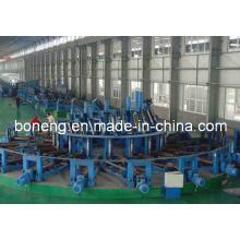Motorreductor serie F para molino de tubos de acero