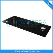 High Polishing Yttria Stabilized Zircon Ceramic Black ZC Plate For Decorative Iphone Mobile Phone Parts/Innovacera