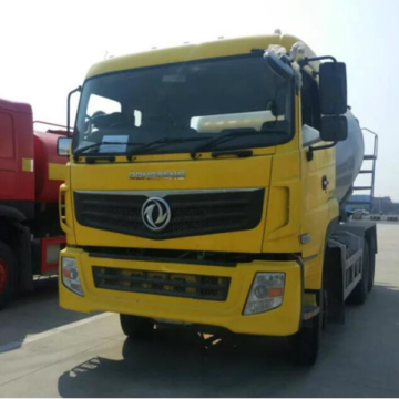 dongfeng concrete mixer truck cummins engine 8m3 concrete mixer truck with Fast gearbox