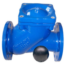 Válvula de retenção de bola de ferro dúctil