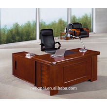 Knock Down Office Table with Mobile drawer side desk