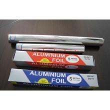 Folha de alumínio doméstico para embalar alimentos e assar