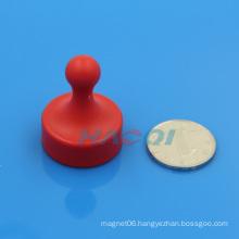 colorful plastic neo permanent pot magnet