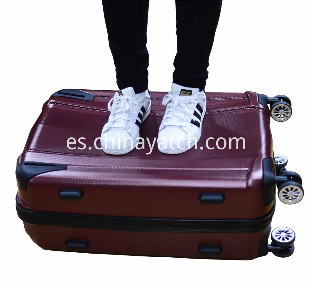 Abs+Pc Alloy Luggage Set