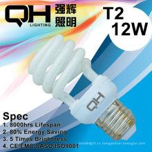 Энергосберегающие лампы/CFL лампа 12W 2700K / 6500K E27/B22