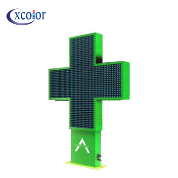 P8 Full Color Outdoor Pharmacy LED Cross Screen