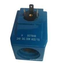 Válvula solenóide Eaton Vickers Bobina H507848 D 507834 507847 24V 30W