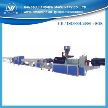 PVC-Plastik, der Maschine in China herstellt