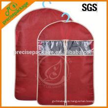 Einfaches Design Kleidung Verpackungsbeutel Staubdicht Kleidersack