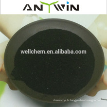 Poudre de flocons d'algues sargassum, matière organique élevée et engrais soluble dans l'eau en Chine