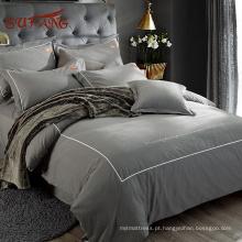 Nomes de marcas de têxteis lar modernos Gold Sufang com fronhas Oxford em algodão longo grampo