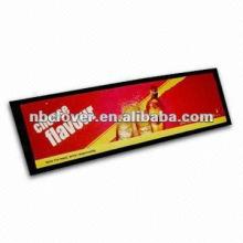 3D-Logo benutzerdefinierte Bar Tropfmatte