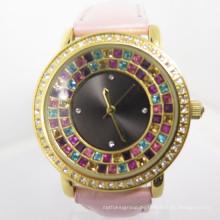 2014 Fabrik-Soem-Art- und Weisefrauen neue Art-Diamant-Uhr