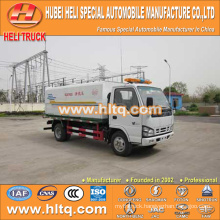 Japan technology 4x2 4000L sewage flushing truck 120hp engine good quality