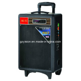 Trolley Battery Karaoke Speaker for Stage Performance (332SD)