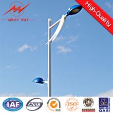 Poste ligero de calle Solar de 8 m con betún
