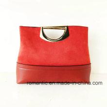 Wholesale Fashion Designer PU Fake Suede Handbags (NMDK-051503)