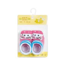 आरामदायक सूती शिशु पशु मोजे जूते