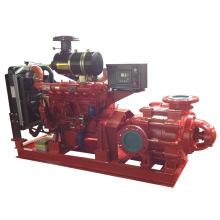 Mehrstufige Diesel Feuerbekämpfung Wasserpumpe
