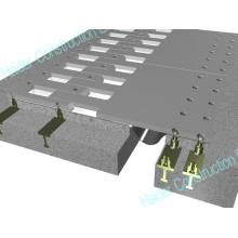 Joint d'expansion en forme de doigt pour pont