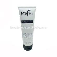 250ml New Product Plastic Cosmetic Mask Tube With Flip Top Cap