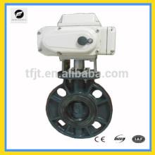 Válvula do motor CTB e válvula de controle de borracha de aço fundido para Solar térmico, sub-chão, água da chuva, irrigação, serviço de encanamento